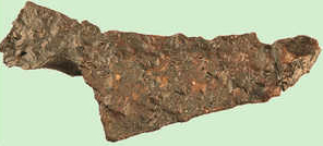 19. Iron knife found in Basagain.© Lamia