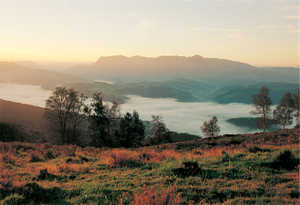 32. Mountains and valleys, typical features of Gipuzkoa's rugged topography. © Lamia